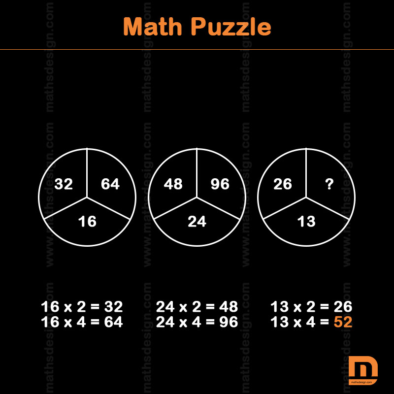 Math Puzzles 222 Math Puzzles Iq Riddles Brain Teasers Md